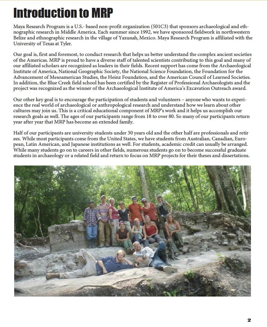 Excavate a Maya City